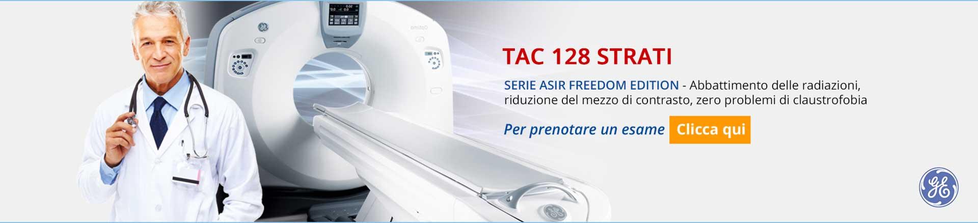Esame TAC 128 Strati Ostia